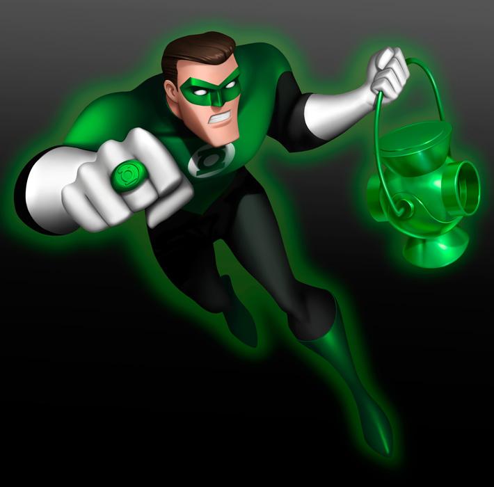 Green Lantern B - Cartoon Network