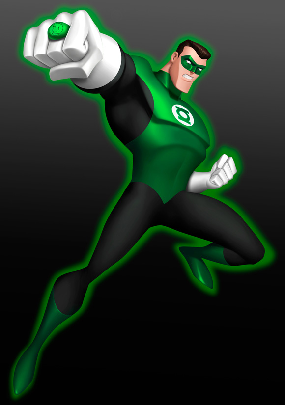 Green Lantern A - Cartoon Network