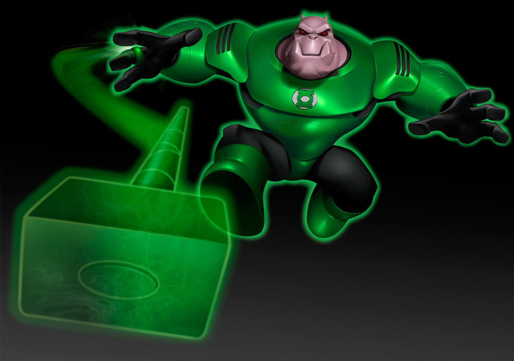 Kilowog B - Cartoon Network