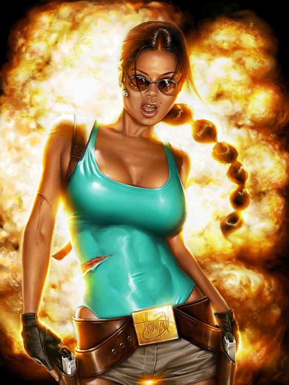 Lara Croft - Personal