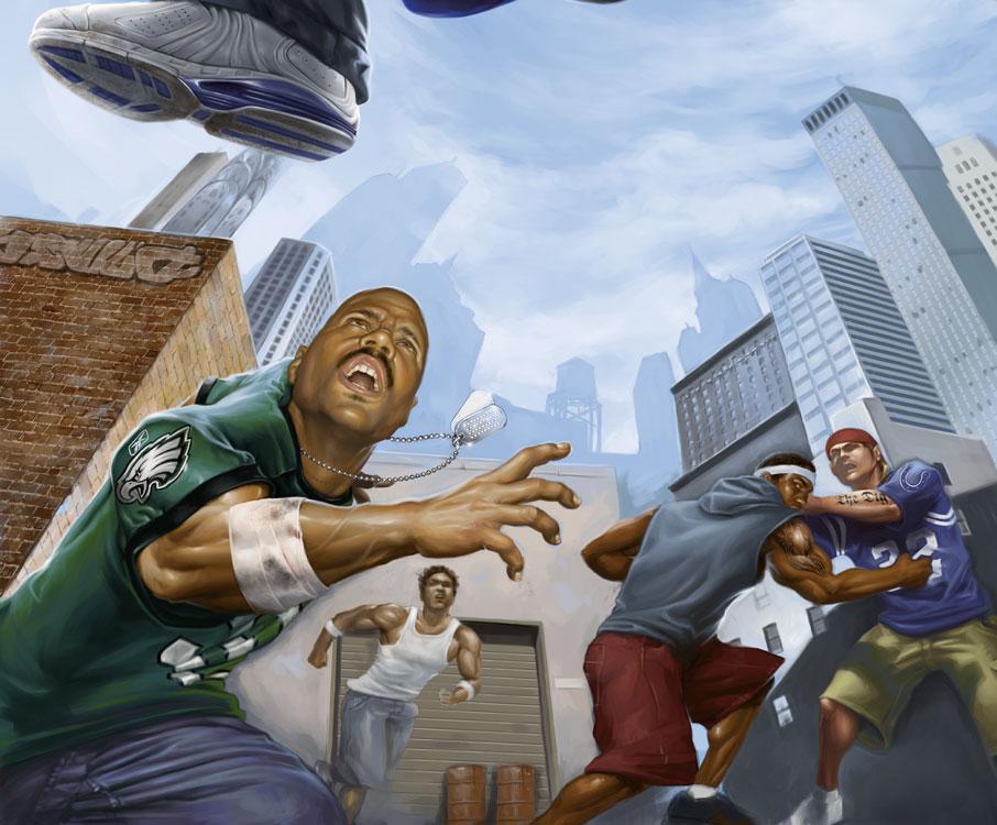 NFL Street 2 (Detail)