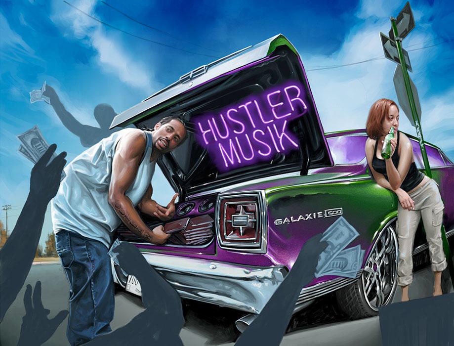 Hustler Music - Vibe Magazine