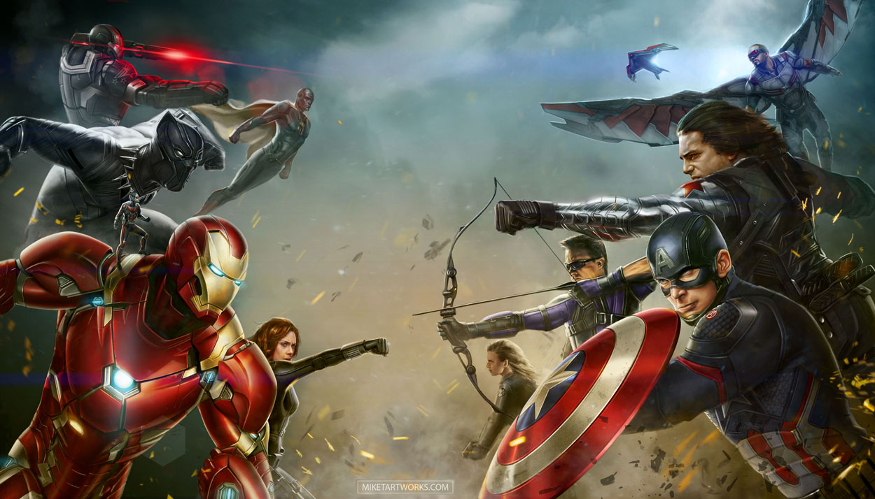 Civil War/Battle - Marvel