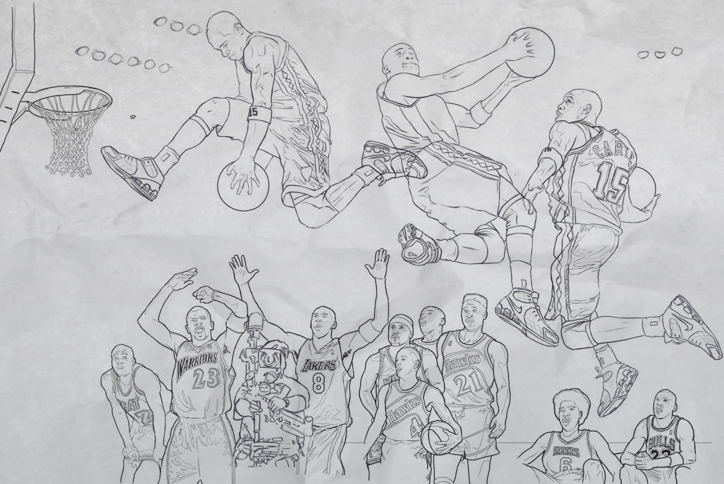DUNK Sketch - Slam Magazine