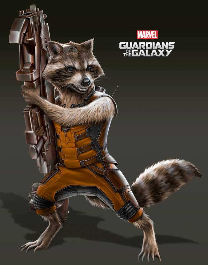 Guardians/Rocket Racoon - Marvel