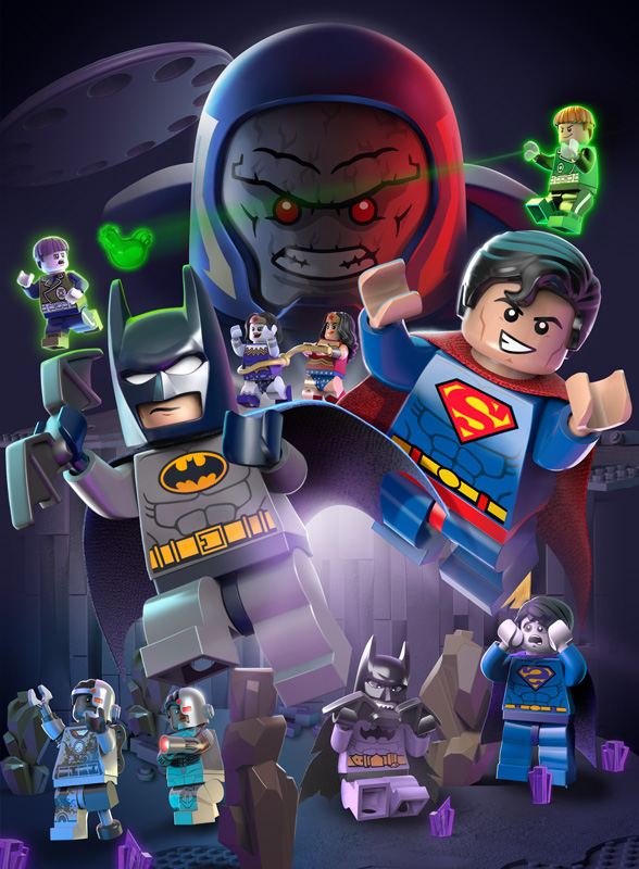Lego Justice League Vs Bizarro League - WB/DC